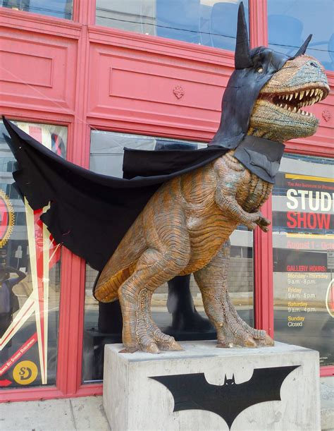 batman dinosaur  pittsburgh dino bat batman dinosaur