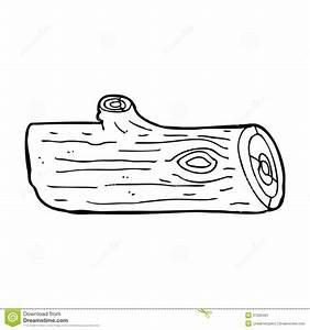 Cartoon Log Stock Image - Image: 37026481