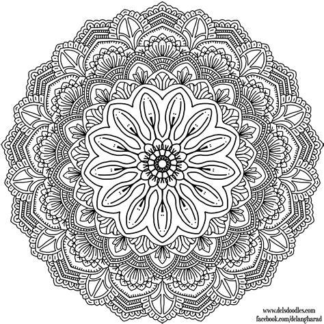 Coloring Krita by Krita Mandala 38 By Welshpixie On Deviantart