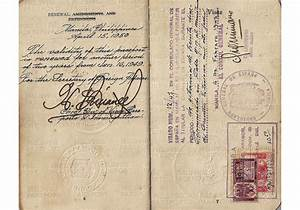 Post-war Philippine passport - Our Passports