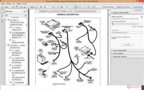 allison  shift solenoid diagram