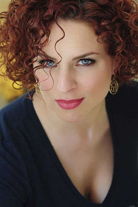 40 best short curly hairstyles for women short