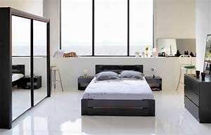 Modele De Chambre A Coucher Moderne : cuisine chambre a coucher moderne en bois design de maison chambre coucher bois moderne ~ Melissatoandfro.com Idées de Décoration