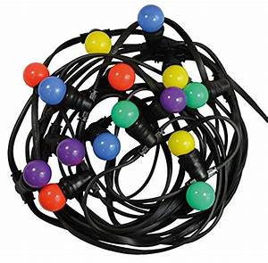 Guirlande Lumineuse Ampoule : guirlande ampoules multicolore ~ Teatrodelosmanantiales.com Idées de Décoration