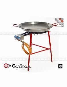 Kit Paella Mirador 60l Stainless Steel Garcima