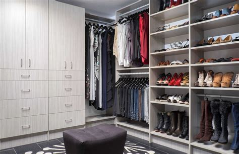 Closet Cabinets by Walk In Closets Organizers Direct