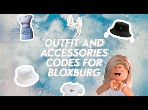 outfit  accessory codes  bloxburg janelle lia