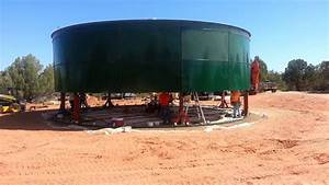 Bolted Water Tank Install