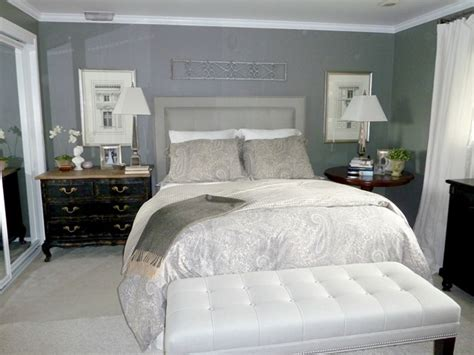Give & Take A Gray Master Bedroom  Emily A Clark