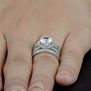 Real looking diamond rings wedding promise diamond for Real wedding ring