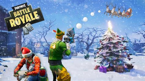 christmas winter update patch notes fortnite battle