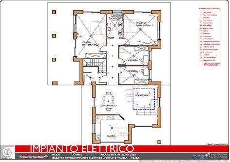 Disegno Impianto Elettrico Appartamento by Esempi Di Disegni E Progetti Di Costruzione