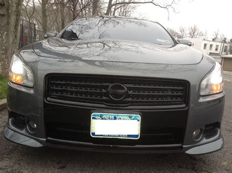 custom 2009 nissan maxima custom maxima grille all blacked out maxima forums