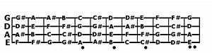 Guitar Tab  Bass Guitar Notes Fretboard