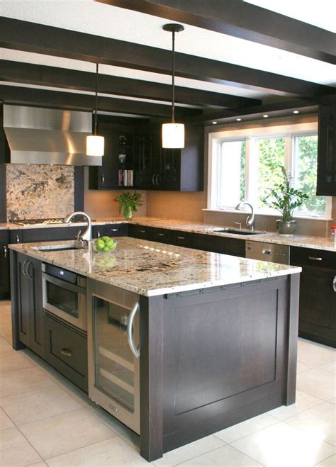 microwave in island in kitchen the working island appliances in the kitchen island 9160