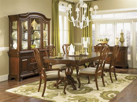 evolution pedestal formal dining room collection
