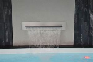 Piscine Inox Prix : cascade piscine inox ~ Carolinahurricanesstore.com Idées de Décoration