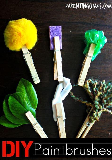 diy paintbrushes  kids art  kids