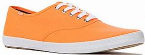 Keds The Champion Sneaker in Neon Orange in Orange for Men
