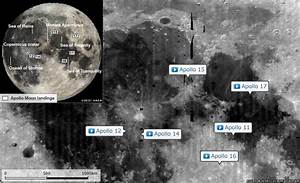 Neil Armstrong Moon Map (page 2) - Pics about space