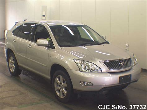 2011 toyota harrier silver for sale stock no 37732 used cars exporter