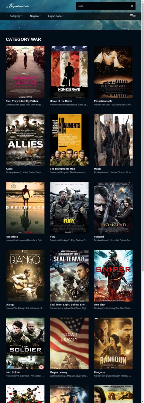 Indofilm situs nonton film bioskop 21. Dota2 Information: Bioskop Keren 21 Terbaru