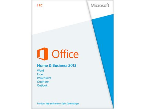 microsoft office 2013 home business product key card 1 pc