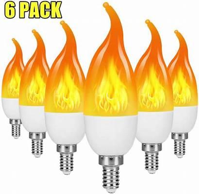 Flame Bulbs Led Bulb Effect Flickering Candelabra