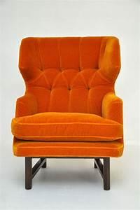 Dunbar Wingback Lounge Chair Edward Wormley Choses