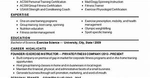 Ccna Resume Sample Sports Fitness Resume Example Resume Examples Resume