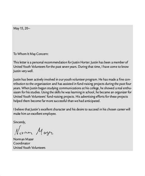 sample reference letter templates  premium