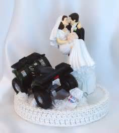 cake topper mariage atv wedding atv cake topper