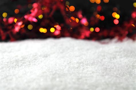 free christmas with snow and lights backgrounds for powerpoint christmas ppt templates