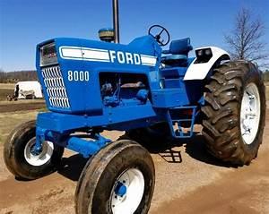 Ford 8000  9000  8600  9600 Tractor Service Repair Manual