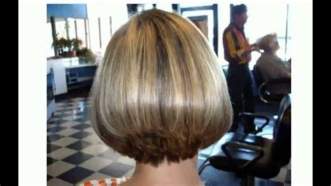 Back Views Of Short Stacked Haircuts