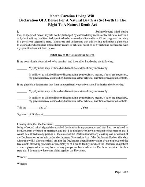 Living Will Template Free Best Photos Of Blank Last Will Form Free Sle Last