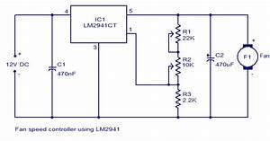 Fan Speed Controller Using Lm2941
