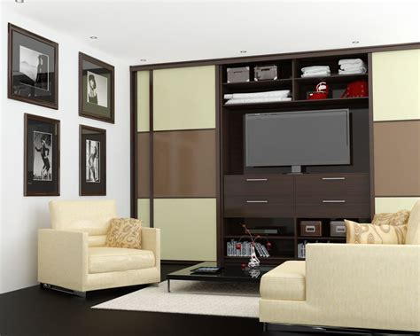 Room Wardrobe Cabinet by Living Room Wardrobe With Space For Tv In The Middle