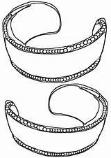Coloring Bracelet Beads sketch template