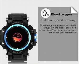 Gmove Gw68 Smartwatch Blood Oxygen Watch Blood Pressure