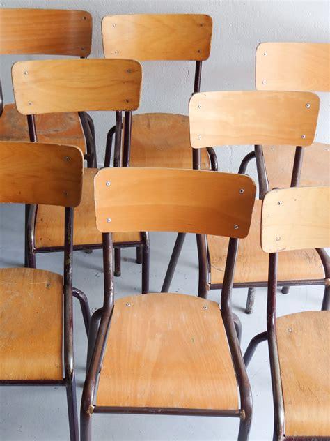 chaises d 233 cole d occasion vintage design scandinave