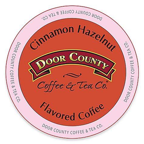 door county coffee 12 count door county coffee tea co 174 cinnamon hazelnut
