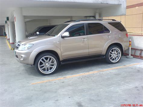 Toyota Fortuner Modification by Vtxhid 2005 Toyota Fortuner Specs Photos Modification