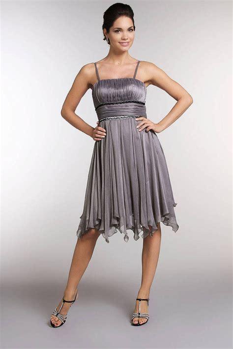robe habillée pour mariage grise robe de soir 233 e chic