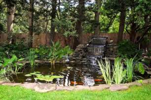 home design exles triyae backyard koi pond waterfall various design inspiration for backyard