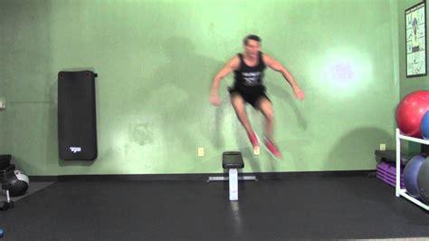 lateral hurdle jumps hasfit plyometric exercises