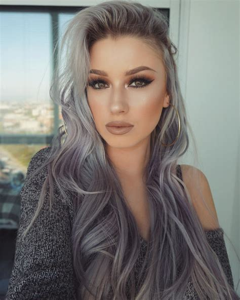 hair color gray grey hair hide or not to hide hairstyles for