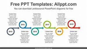 Circle Arrows Powerpoint Diagram Template