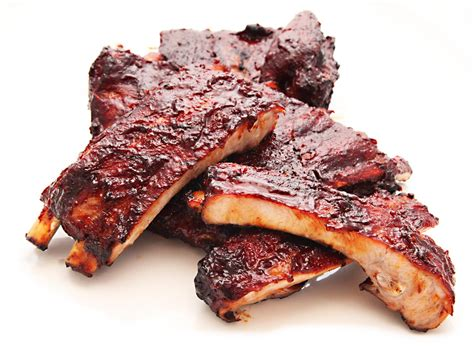 spare ribs barbecue ribs
