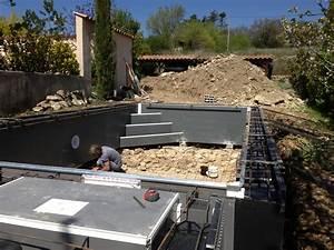 Piscine Semi Enterrée Composite : piscine semi enterr e beton fashion designs ~ Dailycaller-alerts.com Idées de Décoration